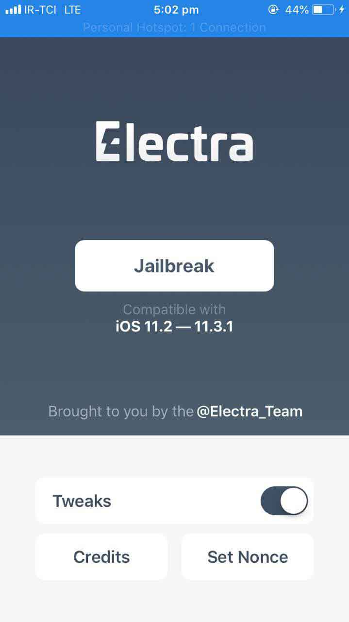 electra main page